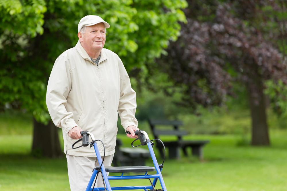 tipos de andadores para ancianos